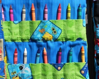 Wall-E Crayon Bag - Coloring Book Bag