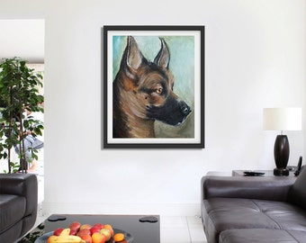 Customized Abstract Dog Portraits