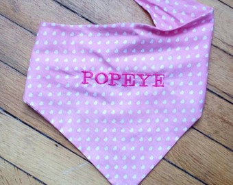 Dog bandana custom on behalf of animal free shipping