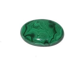 Malachite cabochons 40*27.50*8.47 exotic color 112 carat