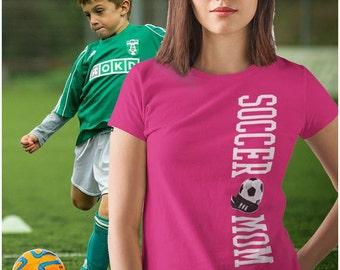 Soccer Mom Shirt - Proud Soccer Mom TShirt - T-shirt for Soccer Moms