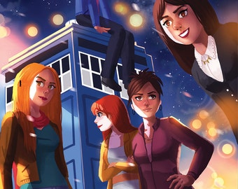 Doctor Who Companions Poster