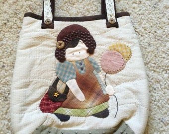 Little Doll Tote Bag