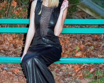 Evening backless dress