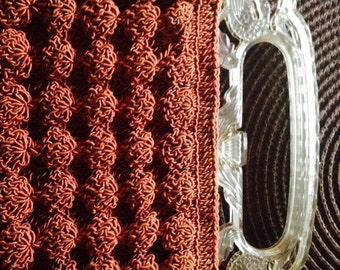 Vintage Woven Clutch