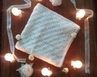 Christening shawl handmade