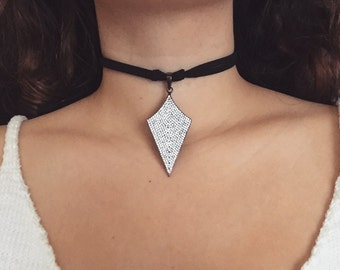 "Diamond ""Arrowhead"" Choker"