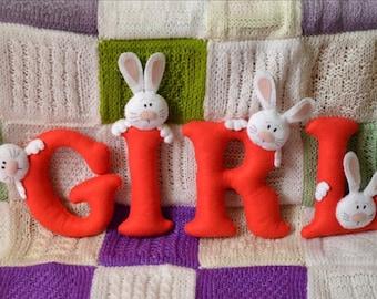 Baby present, present, garland, gift