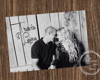 Printable Wedding Shower Postcard