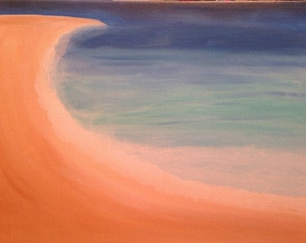 Abstract - beach painting