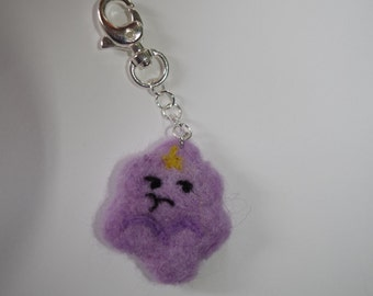 Adventure Time Lumpy Space Princess keychain