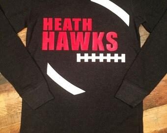 Heath Hawks long sleeve top