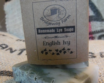 English Ivy Handmade Saop