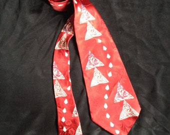 Vintage 1950's Men's NeckTie / Cravat  / Craco Cravats- C R Anthony.co