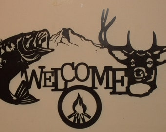 Sportsman Welcome, Buck and Bass
