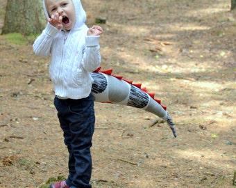 Kids Halloween costume/ Dinosaur birthday party decoration/ Dinosaur Tail/ Dinosaur costume/ Dinosaur