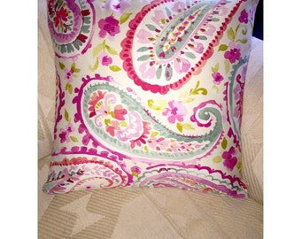 Pretty in Paisley Pillow Cover