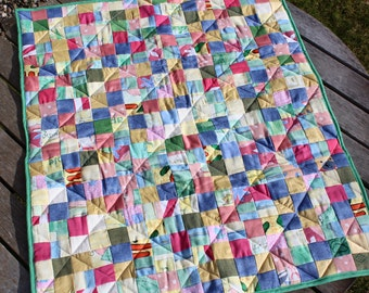 Handmade Dog Basket Blanket – Charity Quilt