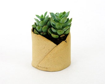 Small Planter - Tan