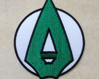Superhero Green Arrow Iron On Patch
