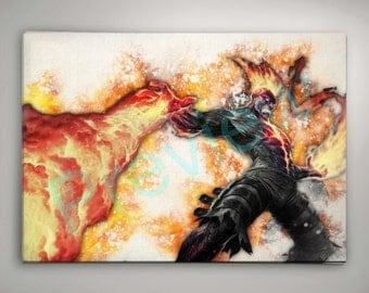 League of Legends Brand, League of Legends Poster, League of Legends Watercolor, League of Legends Wall Decor