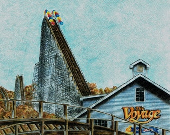 The Voyage (Holiday World) Print A3