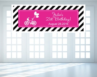 Personalized Birthday Pattern Banner (FJM566251-EL)