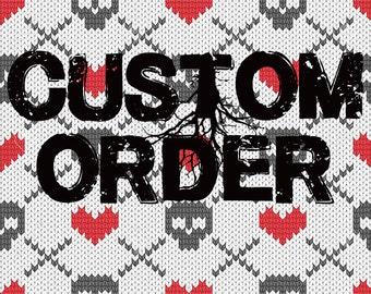 Custom Loom Knitted Order