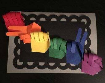 Sign Language Saying Card