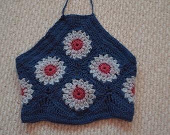 Crochet Halter Top (small)