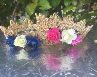 Baby Lace Crown, Photos, Props, Newborn, Infant, Headband, Babies, Girls, Bun Cover, Ballerina