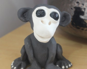 Ceramic Chimp