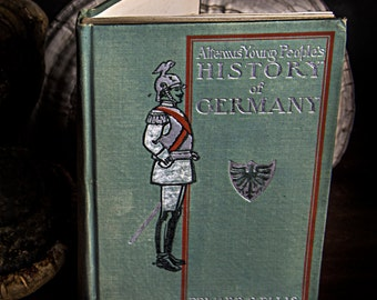 1901 Young People's History of Germany by Edward S Ellis/Antique Book/Collectible/Rare