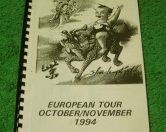 Stone Temple Pilots 1994 Tour Itinerary