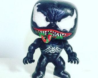 Venom Glow In The Dark Custom Pop/Bobblehead