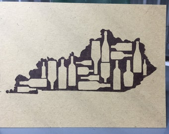 Kentucky Letterpress Postcards