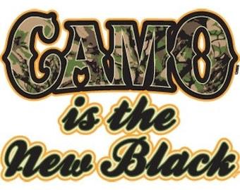 Camo Is The New Black Tee Shirt