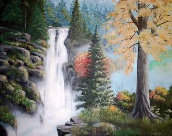 Original handmade acrylic painting