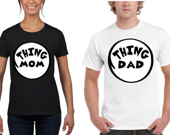 Special Thing Mom Dad Couple T-shirts