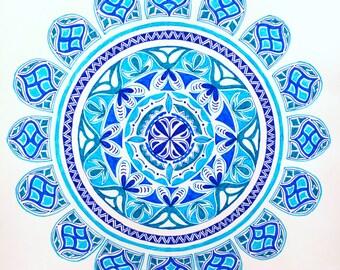 Mandala: bloom series