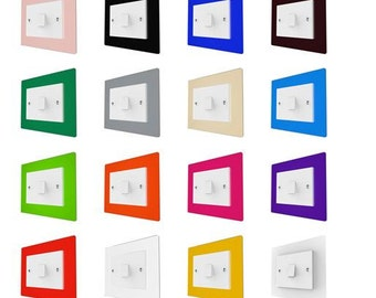 Light Switch Surround | Light Switch Cover | Light Switch Protection | Light Switch Surround Plate | Light Surround | Light Switch Plate
