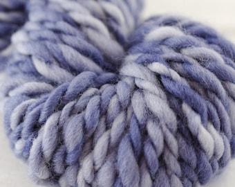 Thick Hand Spun Yarn - Hand Dyed Wool Skein - Thick Hand Spun - Chunky Yarn - Bulky Knit Yarn - Thick Yarn - Chunky Knit Yarn