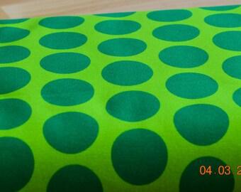 Hilco green Jersey dots