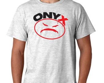 Onyx Logo T Shirt Classic Vintage Style Hip Hop Tee Rap T-Shirt New York Rap New Tee Rappers T-Shirt New bacdafucup