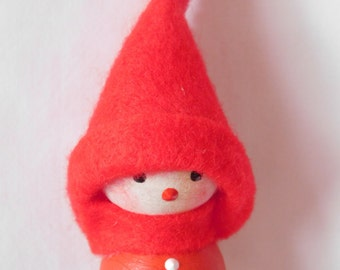 Handmade Finland Tonttu Christmas Elf Decoration
