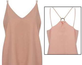Cami top with back detail.