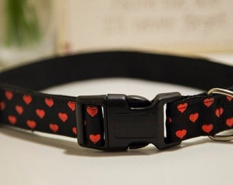 King/Queen of Hearts - Dog Collar
