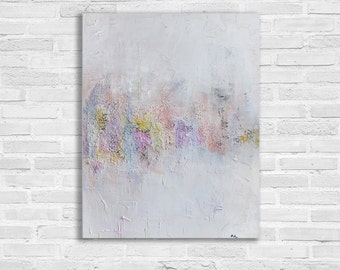 Heavily Textured Large Abstract Painting, Modern Art, Texture Painting, Contemporary Art Painting, XL Painting, Large Painting
