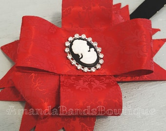 Cameo Damask Headband