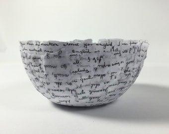 Handmade Keepsake Bowl